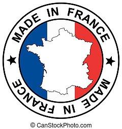 """francobollo, """", fatto, francia"""