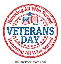 francobollo, giorno veterani