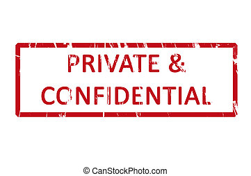 francobollo, gomma, ufficio privato, confidenziale