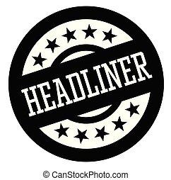 francobollo, greco, headliner