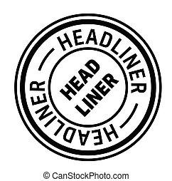 francobollo, headliner, spagnolo