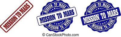 francobollo, marte, grunge, missione, sigilli
