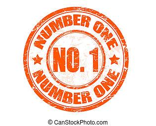 francobollo, numero