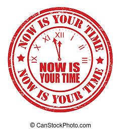 francobollo, ora, tuo, tempo