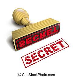 francobollo, testo, segreto, bianco rosso