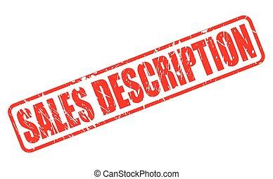 francobollo, testo, vendite, rosso, descrizione