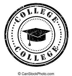 francobollo, università