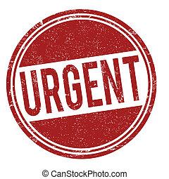 francobollo, urgente