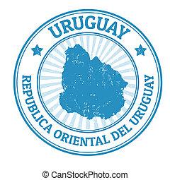 francobollo, uruguay