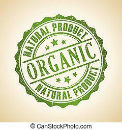 francobollo, vettore, organico