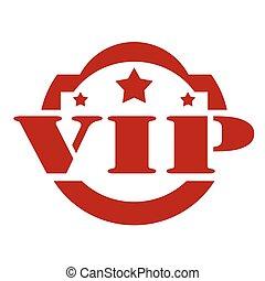 francobollo, vip-red