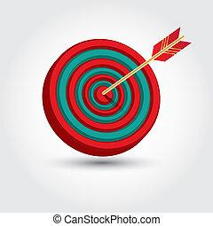 freccia, cerchio