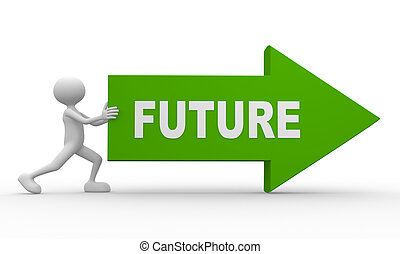 freccia, parola, futuro