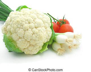 fresco, &, luminoso, verdura