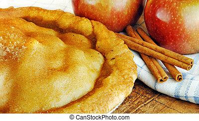 fresco, mela, forno, torta