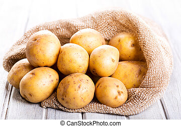 fresco, patate