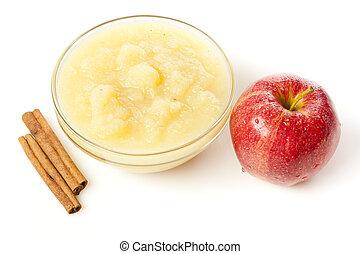 fresco, salsa, organico, mela