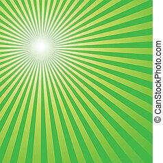 fresco, sfondo verde