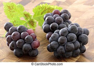fresco, uva passa concorde