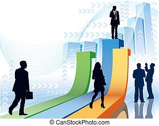 fretta, businesspeople