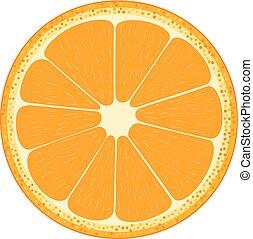fruit., orange., mezzo