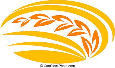 frumento, simbolo, cereale
