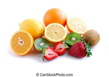 frutta, assortito