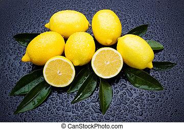 frutta fresca, limone