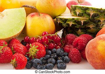 frutta fresca, vario