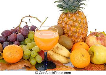 frutta, fresco, stagionale
