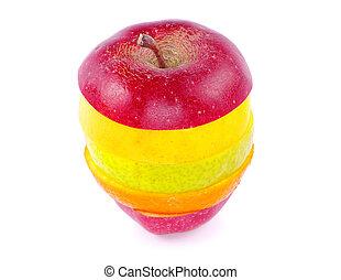 frutta, mescolato