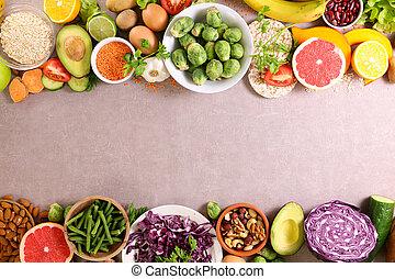 frutta orlano, o, vegetable-frame