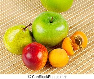 frutta, succoso, maturo