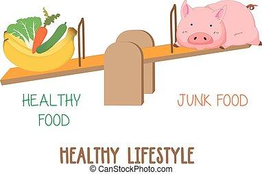frutta, verdura, scegliere, fra