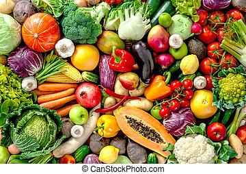 frutte fresche, verdura