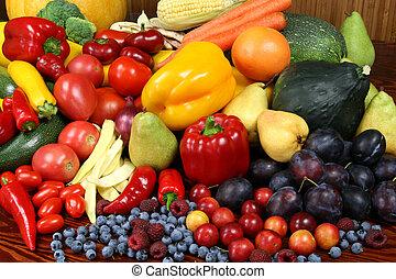 frutte, vegetables.