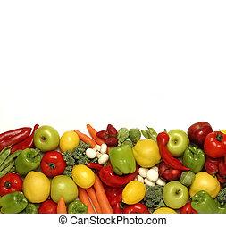 frutte, vegetali mescolati