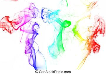 fumo, colorito