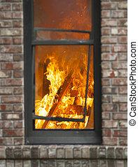 fuoco, casa