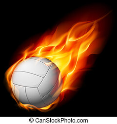 fuoco, pallavolo