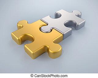 fusione, puzzle