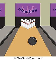 game., bowling