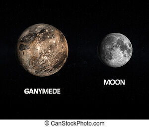 ganymede, luna