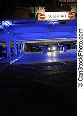 garage, parcheggio