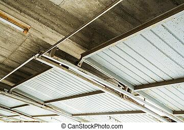 garage, soffitto