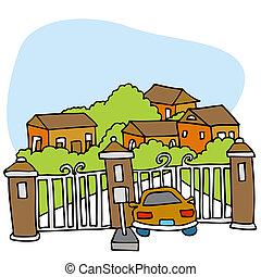 gated, comunità