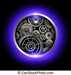 gears., tecnologia, fondo