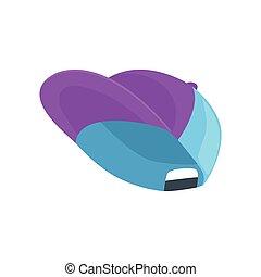 gemma blu, illustrazione, vettore, baseball, cartone animato