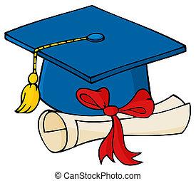gemma blu, laureato, diploma