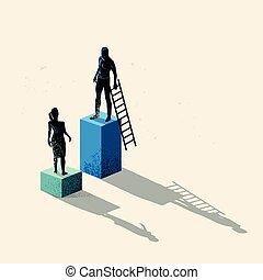 genere, concetto, disuguaglianza